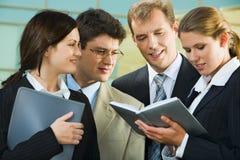 Reunião Foto de Stock