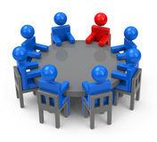 A reunião Fotografia de Stock