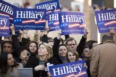 Reunião 9775 de Hillary Clinton Imagens de Stock
