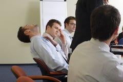 Reunião aborrecida Fotos de Stock Royalty Free
