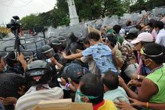 Reunião antigovernamental em Banguecoque Imagem de Stock Royalty Free