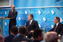 12a reunião anual da estratégia europeia de Yalta (SIM) Imagens de Stock Royalty Free