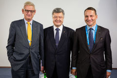 12a reunião anual da estratégia europeia de Yalta (SIM) Foto de Stock Royalty Free