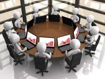 Reunião corporativa Fotografia de Stock Royalty Free