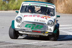 61 reunião Costa Brava. Campeão de FIA European Historic Sporting Rally Imagem de Stock Royalty Free