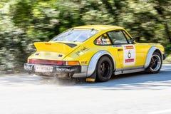 61 reunião Costa Brava. Campeão de FIA European Historic Sporting Rally Fotografia de Stock