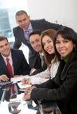 Reunião da equipe de funcionários Foto de Stock Royalty Free