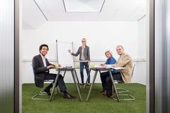 Reunião da estratégia da sustentabilidade Foto de Stock Royalty Free