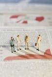 Reunião da estratégia empresarial Imagens de Stock Royalty Free