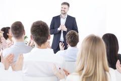 Reunião da gestão do corporaçõ imagem de stock royalty free
