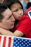 Reunião da imigração em Washington Imagens de Stock Royalty Free