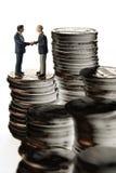 Reunião da operação bancária fotografia de stock royalty free