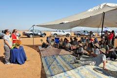 Reunião da rainha do deserto Imagem de Stock Royalty Free