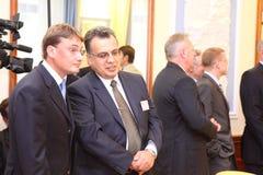 Reunião das cabeças de ministérios dos Negócios Estrangeiros Fotografia de Stock