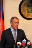 Reunião das cabeças de ministérios dos Negócios Estrangeiros Fotos de Stock Royalty Free