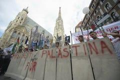 Reunião 2014 de Al Quds em Viena Fotografia de Stock Royalty Free