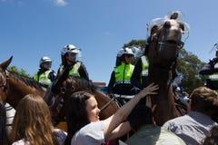 Reunião de Austrália da recuperação - Melton Foto de Stock