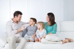 Reunião de família agradável Imagens de Stock