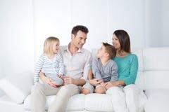 Reunião de família nova Imagem de Stock
