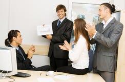 Reunião de negócio Imagem de Stock Royalty Free