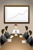 Reunião de negócio Fotos de Stock