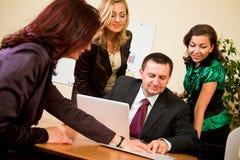 Reunião de negócio Imagem de Stock