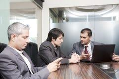 Reunião de negócio Imagens de Stock
