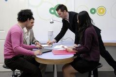 Reunião de negócio. Fotos de Stock