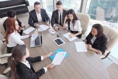 Reunião de negócio Foto de Stock