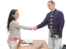 Reunião de negócio 8 Fotografia de Stock