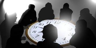 Reunião de negócio secreta Imagem de Stock Royalty Free