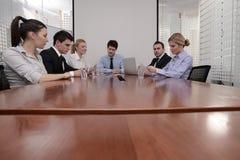 Reunião de negócios Fotografia de Stock Royalty Free