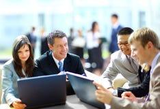 Reunião de negócios imagens de stock royalty free