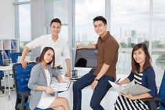 Reunião de negócios Foto de Stock