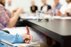 Reunião de negócios Imagem de Stock Royalty Free