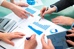 Reunião de negócios Imagem de Stock