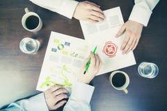 Reunião de negócios Foto de Stock Royalty Free