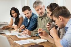 Reunião de negócios Startup Foto de Stock