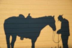 Reunião de oração da sombra Imagem de Stock