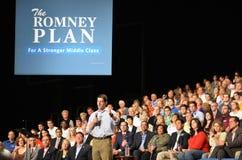 Reunião de Paul Ryan na notícia de Newport, Virgínia fotografia de stock