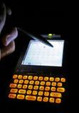 Reunião de PDA Foto de Stock