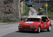 Reunião de Peugeot 106 Foto de Stock Royalty Free