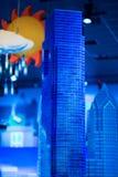 REUNIÃO DE PLYMOUTH, PA - 6 DE ABRIL: Grande inauguração do centro Philadelphfia da descoberta de Legoland, PA o 6 de abril de 20 fotos de stock royalty free