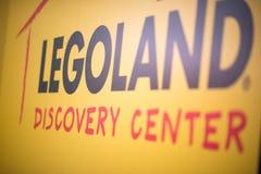 REUNIÃO DE PLYMOUTH, PA - 6 DE ABRIL: Grande inauguração do centro Philadelphfia da descoberta de Legoland, PA o 6 de abril de 20 imagem de stock