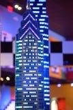 REUNIÃO DE PLYMOUTH, PA - 6 DE ABRIL: Grande inauguração do centro Philadelphfia da descoberta de Legoland, PA o 6 de abril de 20 imagem de stock royalty free
