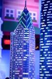 REUNIÃO DE PLYMOUTH, PA - 6 DE ABRIL: Grande inauguração do centro Philadelphfia da descoberta de Legoland, PA o 6 de abril de 20 fotografia de stock
