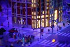 REUNIÃO DE PLYMOUTH, PA - 6 DE ABRIL: Grande inauguração do centro Philadelphfia da descoberta de Legoland, PA o 6 de abril de 20 foto de stock