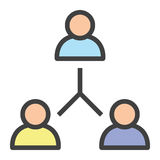 Reunião de sessão de reflexão Imagem de Stock