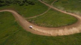 A reunião do carro é uma vista superior Foto de Stock Royalty Free