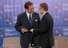 35a reunião do Conselho de Ministros dos Negócios Estrangeiros da organização do Estado-membro de cooperação econômica do Mar Neg Fotografia de Stock